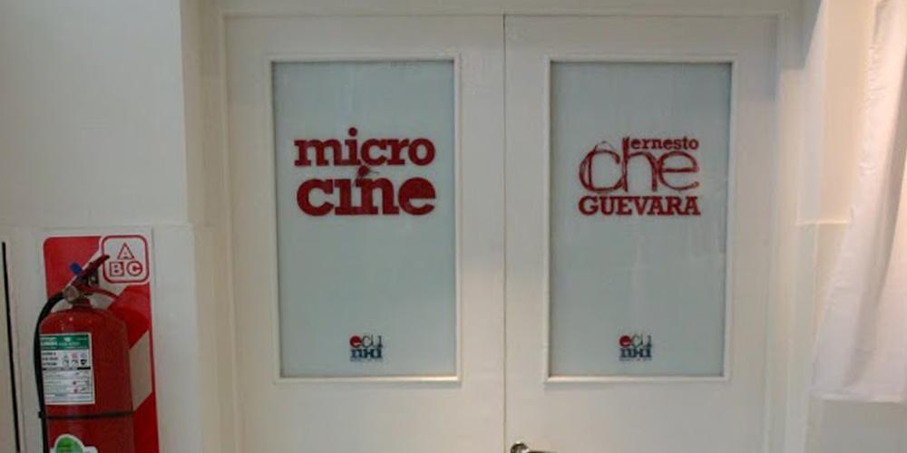 """Inauguración del microcine """"Che Guevara"""""""