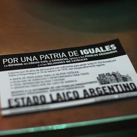 POR UNA PATRIA DE IGUALES