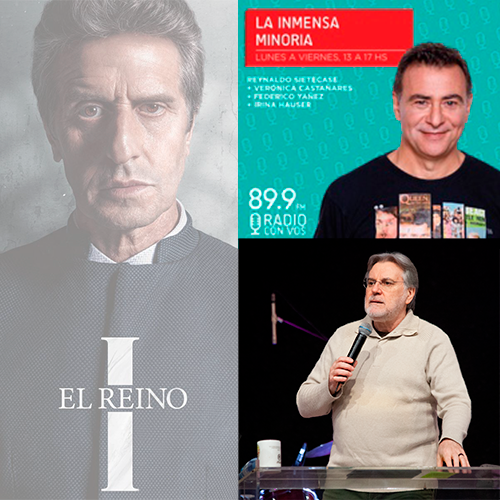 EL REINO. Entrevista Radio Con Vos.